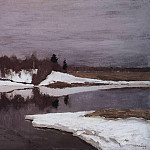 Isaac Ilyich Levitan - Early spring. 1898