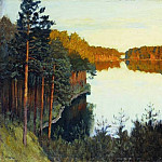 Forest Lake, Isaac Ilyich Levitan