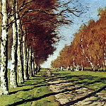 Most road. Sunny autumn day. 1897, Isaac Ilyich Levitan