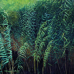 Reeds and water lilies. 1889, Isaac Ilyich Levitan
