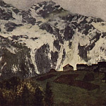 In the Alps. 1897, Isaac Ilyich Levitan