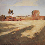 Isaac Ilyich Levitan - Compressed field. 1897