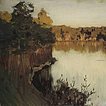 Isaac Ilyich Levitan - Forest Lake. Sunset. 1890
