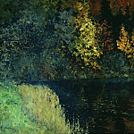 Isaac Ilyich Levitan - Forest River. Autumn on the River Istra. 1885-1886
