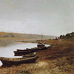 Isaac Ilyich Levitan - On the Volga. 1887-1888