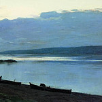 Isaac Ilyich Levitan - evening on the Volga 2. 1888