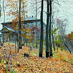 Autumn. Farmstead. 1894, Isaac Ilyich Levitan