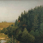 Isaac Ilyich Levitan - Landscape with Forest River. 1880