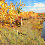 Golden Autumn, Isaac Ilyich Levitan