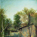 Sunny day. Spring. 1876-1877, Isaac Ilyich Levitan