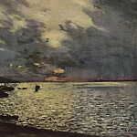 Isaac Ilyich Levitan - Cloudy day on the Volga. 1888