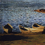 Isaac Ilyich Levitan - shore. The first half of 1890