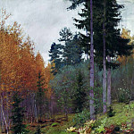 Isaac Ilyich Levitan - In the woods in autumn. 1894