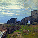 Isaac Ilyich Levitan - The remnants of the past. Twilight. Finland. 1897