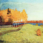 Golden Autumn. 1896, Isaac Ilyich Levitan