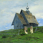 Church in Pleso. 1888, Isaac Ilyich Levitan