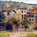 Near Bordighera. In the north of Italy, Isaac Ilyich Levitan