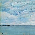 Sea near the Finnish coast. 1896, Isaac Ilyich Levitan