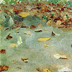 Autumn leaves. 1879, Isaac Ilyich Levitan
