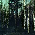 Isaac Ilyich Levitan - By evening. Grove