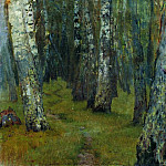 Isaac Ilyich Levitan - Birches. Edge of the Forest. 1880