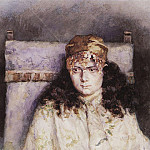 Portrait of a Woman. 1885, Vasily Ivanovich Surikov