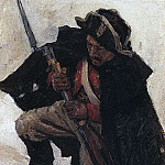 Vasily Ivanovich Surikov - Soldier with ruzhem1. 1898