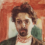Self-portrait. 1883-1884, Vasily Ivanovich Surikov