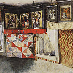 Vasily Ivanovich Surikov - Country shrine. 1880