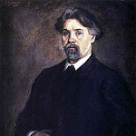 Self-portrait. 1915, Vasily Ivanovich Surikov