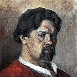 Self-portrait. 1902, Vasily Ivanovich Surikov