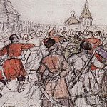 Krasnoyarsk rebellion in 1695. 1902, Vasily Ivanovich Surikov