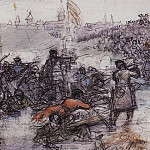 Conquest of Siberia by Yermak 2. Around 1891, Vasily Ivanovich Surikov