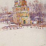 Church. 1910, Vasily Ivanovich Surikov