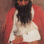 bearded archer. 1879, Vasily Ivanovich Surikov