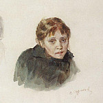 Head girl, Vasily Ivanovich Surikov