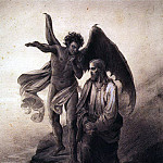 Vasily Ivanovich Surikov - Temptation of Christ. 1872