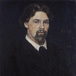 Self-portrait. 1913, Vasily Ivanovich Surikov