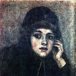 Vasily Ivanovich Surikov - head nun