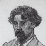Self-portrait. 1910, Vasily Ivanovich Surikov