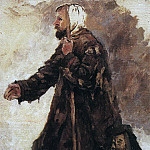Vasily Ivanovich Surikov - beggar on his knees. Not later than 1887