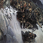 Vasily Ivanovich Surikov - Suvorov Crossing the Alps in 1799 godu1. 1899