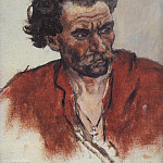 Cossack in a red shirt, Vasily Ivanovich Surikov