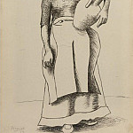 Pablo Picasso (1881-1973) Period of creation: 1919-1930 - 1919 Femme Е la cruche