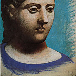 1921 TИte de femme3, Pablo Picasso (1881-1973) Period of creation: 1919-1930
