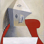 1929 Femme au fauteuil rouge, Pablo Picasso (1881-1973) Period of creation: 1919-1930