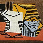 1922 Compotier et paquet de tabac1, Pablo Picasso (1881-1973) Period of creation: 1919-1930