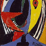 Pablo Picasso (1881-1973) Period of creation: 1919-1930 - 1929 Buste de femme