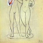 1920 Deux nus fВminins2, Pablo Picasso (1881-1973) Period of creation: 1919-1930