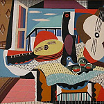 Pablo Picasso (1881-1973) Period of creation: 1919-1930 - 1924 Mandoline et guitare